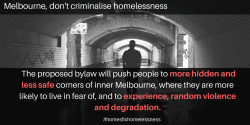 10 things Melbourne Council could do instead of homeless ban