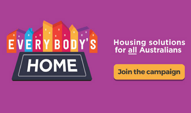 everybody's home - join the campaign