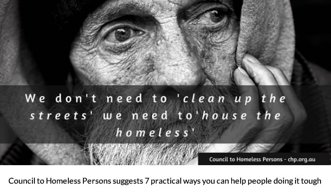 7 thinks Australians can do to end homelessness